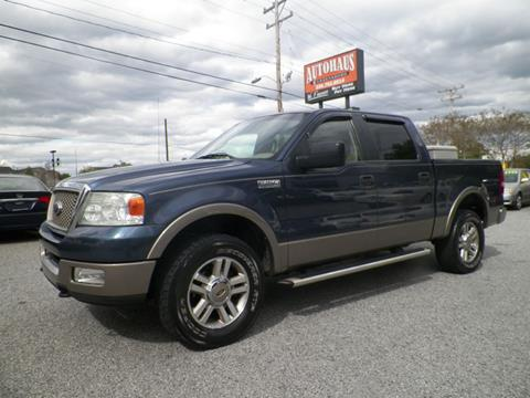 2005 Ford F-150 for sale at Autohaus of Greensboro in Greensboro NC