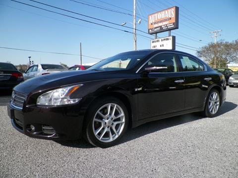 2011 Nissan Maxima for sale at Autohaus of Greensboro in Greensboro NC