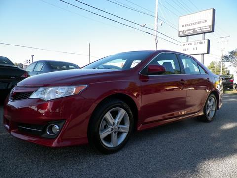 2012 Toyota Camry for sale at Autohaus of Greensboro in Greensboro NC