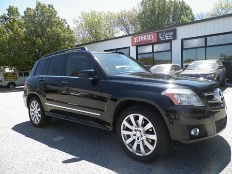 2012 Mercedes-Benz GLK for sale at Autohaus of Greensboro in Greensboro NC