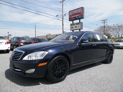 2007 Mercedes-Benz S-Class for sale at Autohaus of Greensboro in Greensboro NC