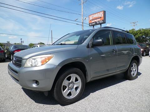 2006 Toyota RAV4 for sale at Autohaus of Greensboro in Greensboro NC