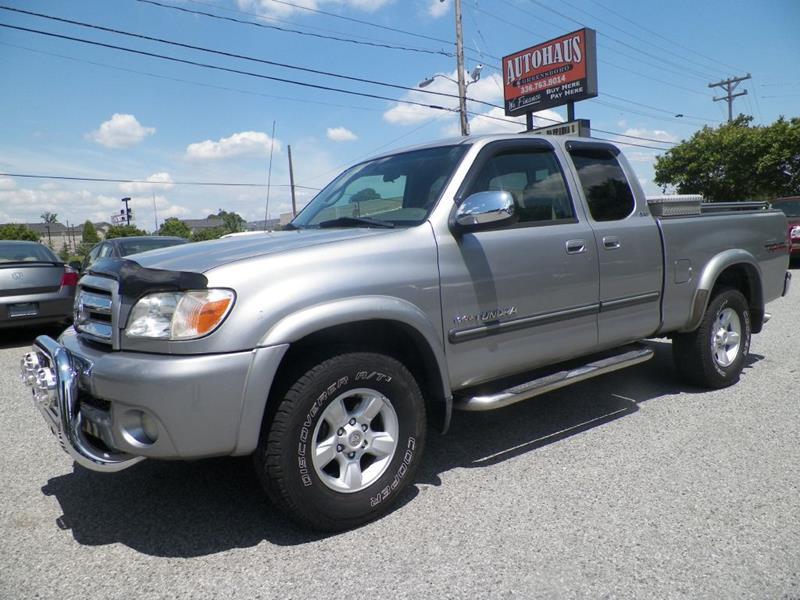 2005 Toyota Tundra ACCESS CAB SR5   Greensboro NC