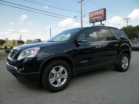 2007 GMC Acadia for sale at Autohaus of Greensboro in Greensboro NC