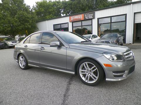 2012 Mercedes-Benz C-Class for sale at Autohaus of Greensboro in Greensboro NC