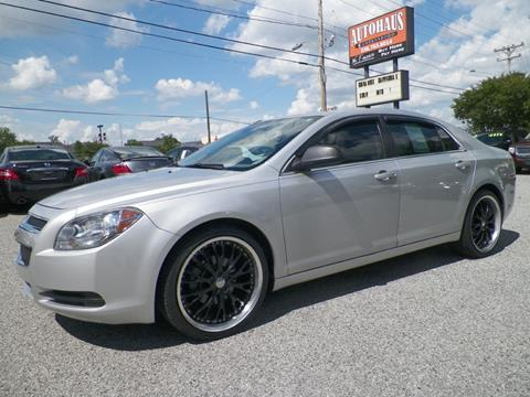2012 Chevrolet Malibu for sale at Autohaus of Greensboro in Greensboro NC