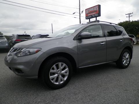 2011 Nissan Murano for sale at Autohaus of Greensboro in Greensboro NC