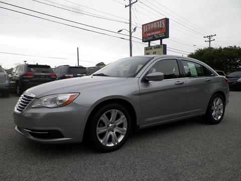 2013 Chrysler 200 for sale at Autohaus of Greensboro in Greensboro NC