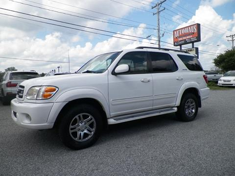 2004 toyota sequoia for sale in greensboro nc. Black Bedroom Furniture Sets. Home Design Ideas