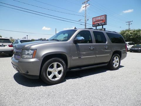 2007 Chevrolet Suburban for sale at Autohaus of Greensboro in Greensboro NC