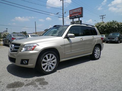 2011 Mercedes-Benz GLK for sale at Autohaus of Greensboro in Greensboro NC