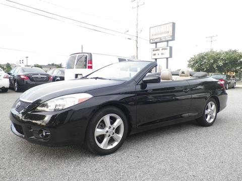 2008 Toyota Camry Solara for sale at Autohaus of Greensboro in Greensboro NC