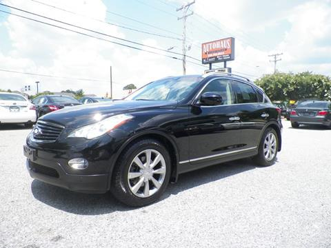 2012 Infiniti EX35 for sale at Autohaus of Greensboro in Greensboro NC