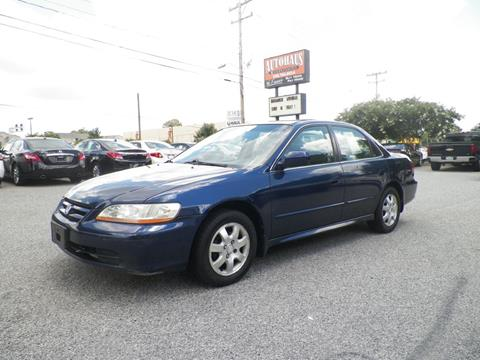 2001 Honda Accord for sale at Autohaus of Greensboro in Greensboro NC