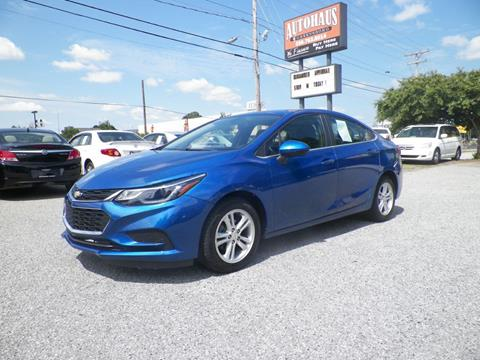 2017 Chevrolet Cruze for sale at Autohaus of Greensboro in Greensboro NC