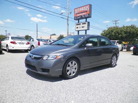 2011 Honda Civic for sale at Autohaus of Greensboro in Greensboro NC