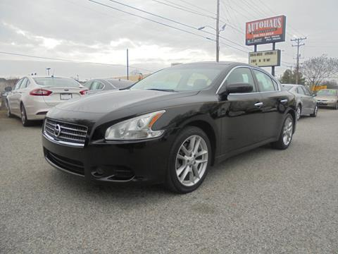 2010 Nissan Maxima for sale at Autohaus of Greensboro in Greensboro NC