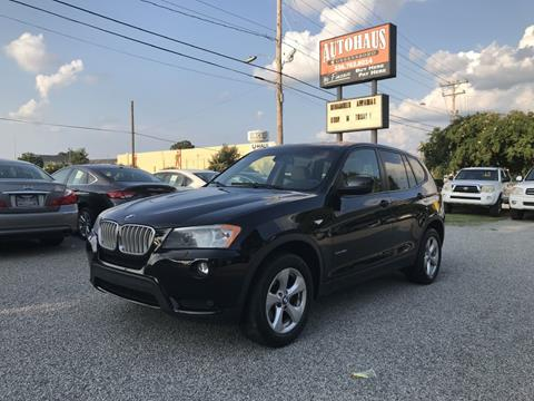 2011 BMW X3 for sale at Autohaus of Greensboro in Greensboro NC