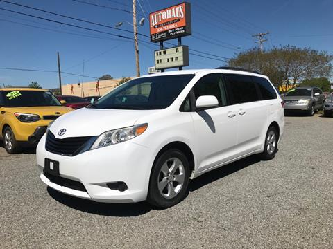 2011 Toyota Sienna for sale in Greensboro, NC