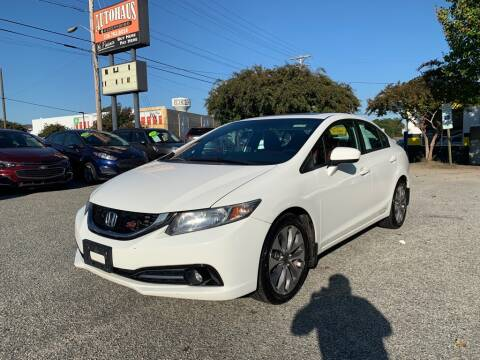 2015 Honda Civic for sale at Autohaus of Greensboro in Greensboro NC