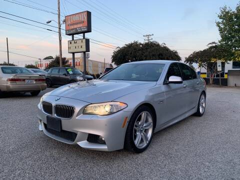 2013 BMW 5 Series for sale at Autohaus of Greensboro in Greensboro NC