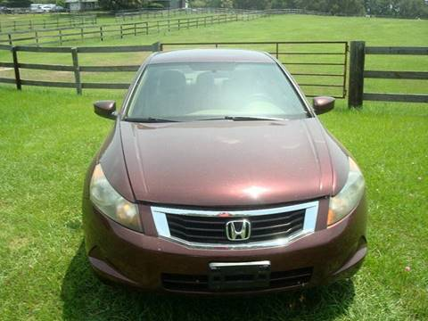 2008 Honda Accord for sale at WILLIAMS CLASSIC CARS in Ocala FL