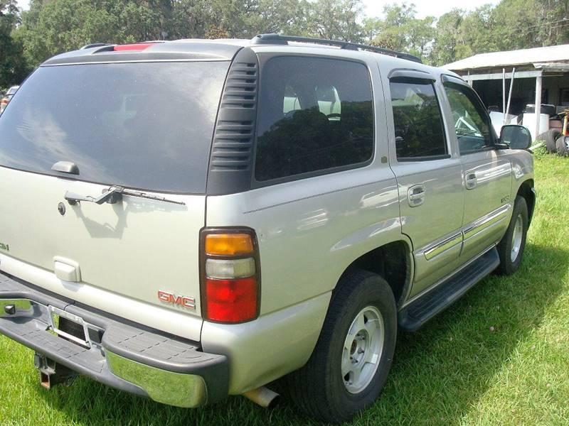 2006 GMC Yukon for sale at WILLIAMS CLASSIC CARS in Ocala FL