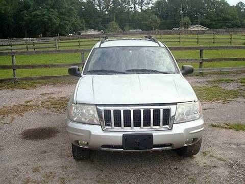 2004 Jeep Grand Cherokee for sale at WILLIAMS CLASSIC CARS in Ocala FL