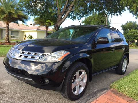 2005 Nissan Murano for sale in Hollywood, FL