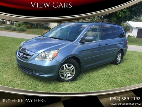2006 Honda Odyssey for sale in Hollywood, FL