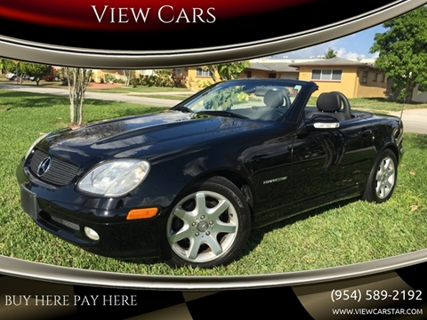 2001 Mercedes-Benz SLK for sale in Hollywood, FL