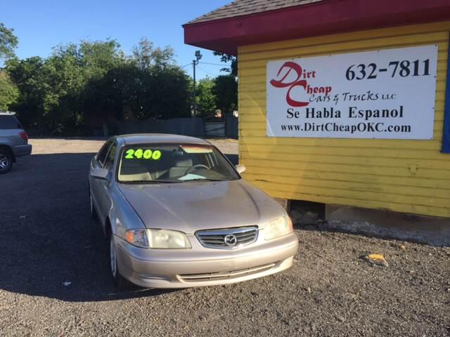 2002 Mazda 626 For Sale At Dirt Cheap Cars U0026 Trucks In Oklahoma City OK