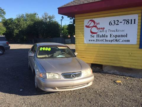 2002 Mazda 626 for sale in Oklahoma City, OK
