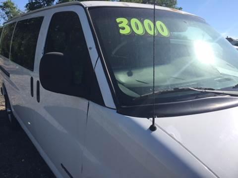 2001 Chevrolet Express Passenger for sale in Oklahoma City, OK