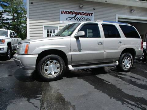 2005 Cadillac Escalade for sale in Lewiston, ME