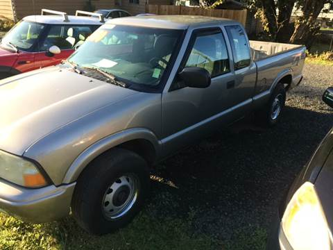 2002 GMC Sonoma for sale in Sweet Home, OR