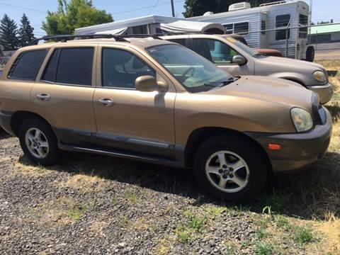 2003 Hyundai Santa Fe for sale at Paradise Motors Inc in Sweet Home OR