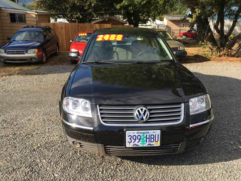 2002 Volkswagen Passat for sale at Paradise Motors Inc in Sweet Home OR