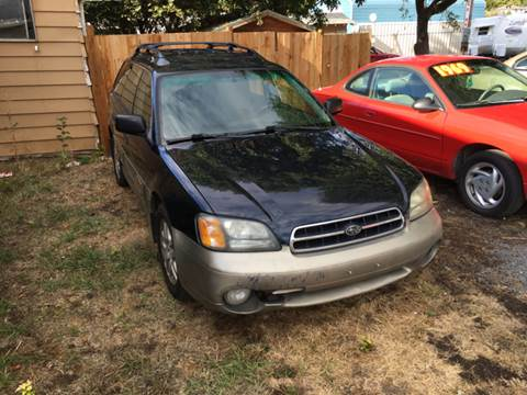 2002 Subaru Outback for sale at Paradise Motors Inc in Sweet Home OR