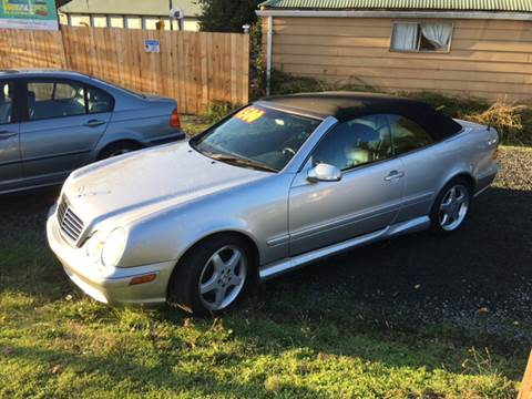 2002 Mercedes-Benz CLK for sale at Paradise Motors Inc in Sweet Home OR