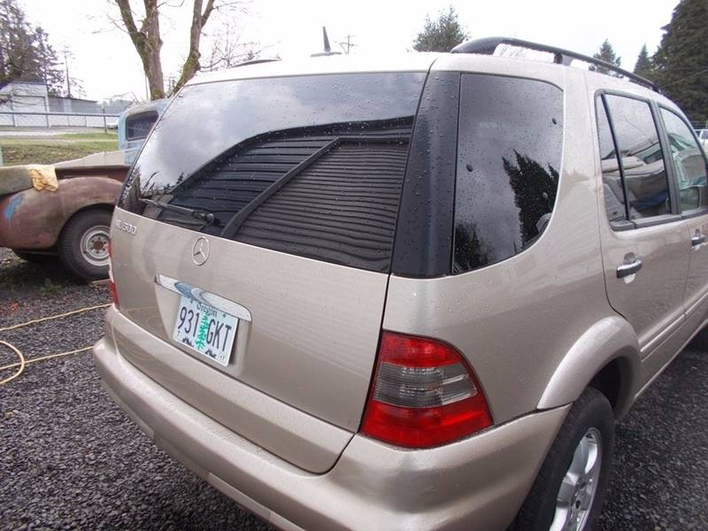 2003 Mercedes-Benz M-Class for sale at Paradise Motors Inc in Sweet Home OR