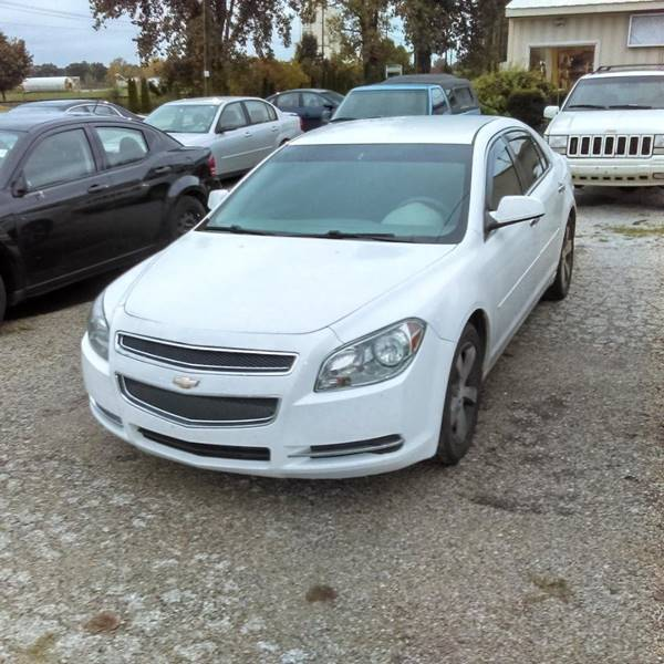 2012 Chevrolet Malibu For Sale At Car Lot Credit Connection In Elkhart IN
