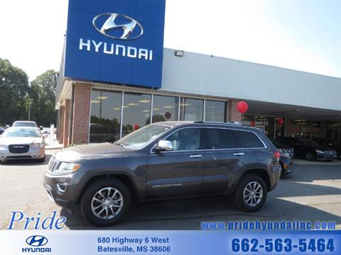 2016 Jeep Grand Cherokee for sale in Batesville, MS