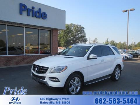 2014 Mercedes-Benz M-Class for sale in Batesville, MS