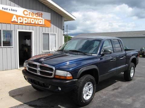 2004 Dodge Dakota for sale in Cadillac, MI