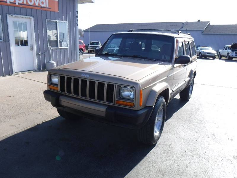 2000 Jeep Cherokee Sport 4dr 4wd Suv