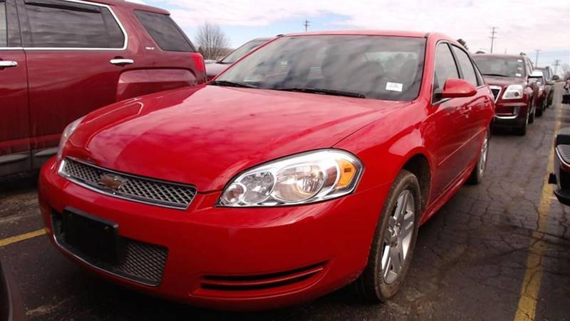 2012 Chevrolet Impala Lt Fleet 4dr Sedan