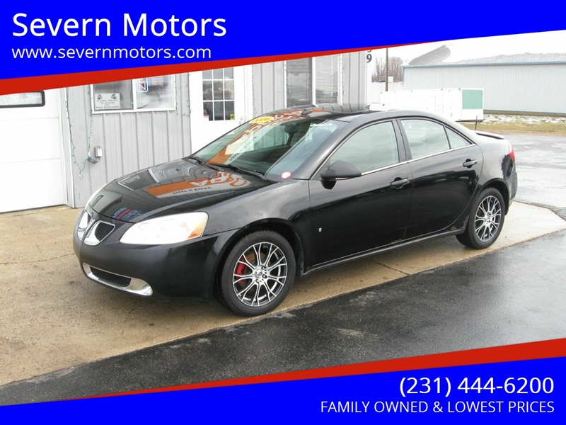 2008 Pontiac G6 Base 4dr Sedan