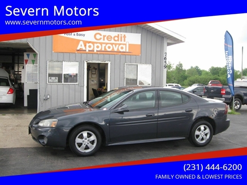 2008 Pontiac Grand Prix for sale in Cadillac, MI