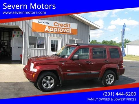 2008 Jeep Liberty for sale in Cadillac, MI